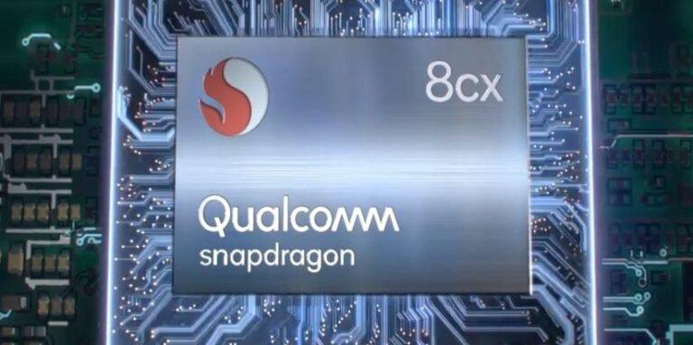 Los chips para PC Qualcomm Snapdragon 8cx desafían a Intel Core i5