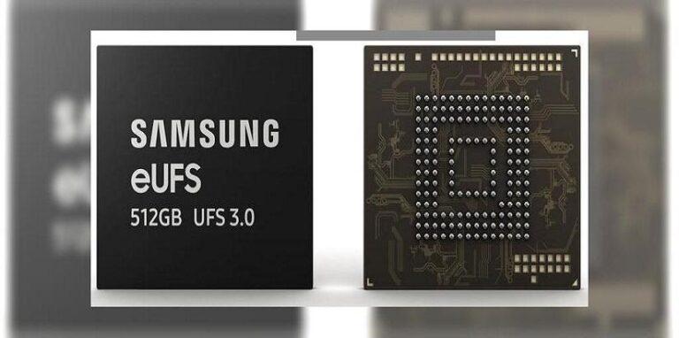 Samsung fabricará el primer disco eUFS 3.0 de 512 GB del sector