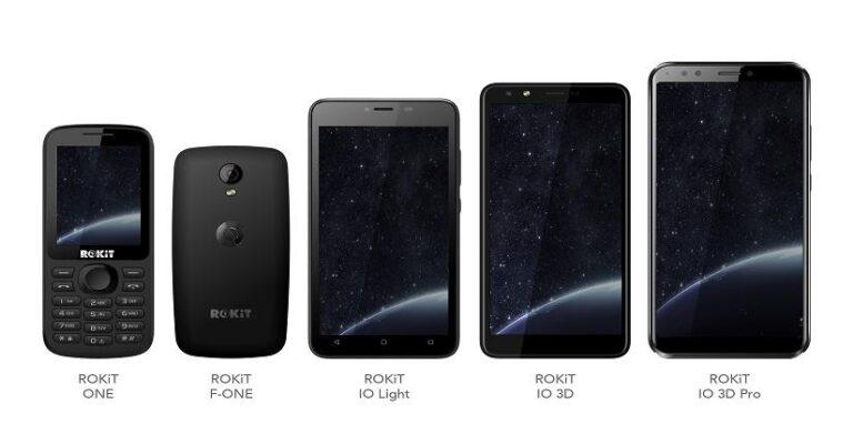 ROKiT lanza oficialmente la línea de teléfonos, calidad con variedad