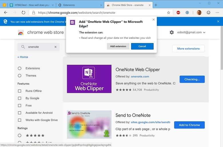 Chrome Web Store de Google