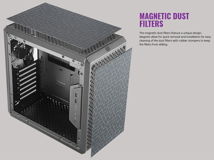 Magnetic Dust Filters
