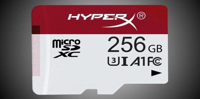 Las tarjetas MicroSD de alta velocidad HyperX llegan para jugadores