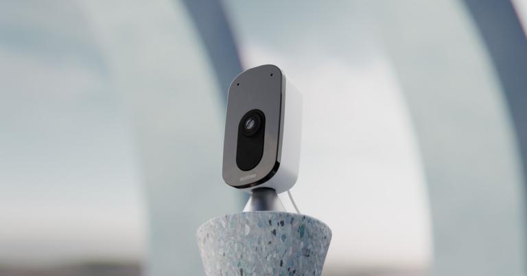 La nueva cámara de seguridad de Ecobee funciona como un altavoz Alexa