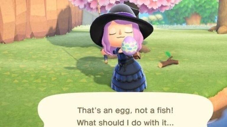 Hay algo mal sobre el Animal Crossing en el evento
